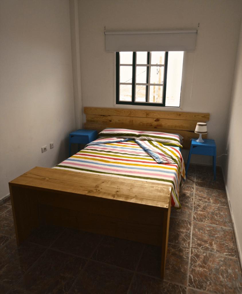Habitación doble en el Tenerife Climbing House